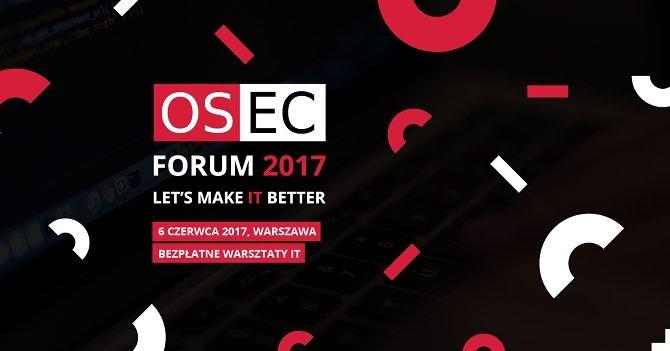 PurePC obejmuje patronatem wydarzenie OSEC Forum 2017 [1]