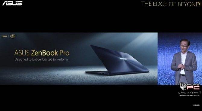 ASUS zaprezentował ultrabooki Zenbook 3 Deluxe i Zenbook Pro [12]