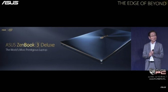ASUS zaprezentował ultrabooki Zenbook 3 Deluxe i Zenbook Pro [14]