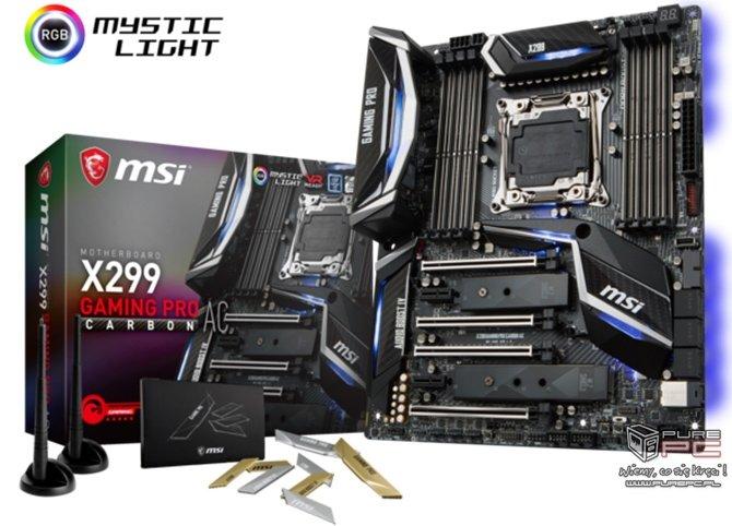 MSI X299 Gaming Pro Carbon AC - płyta dla amatorów druku 3D [3]