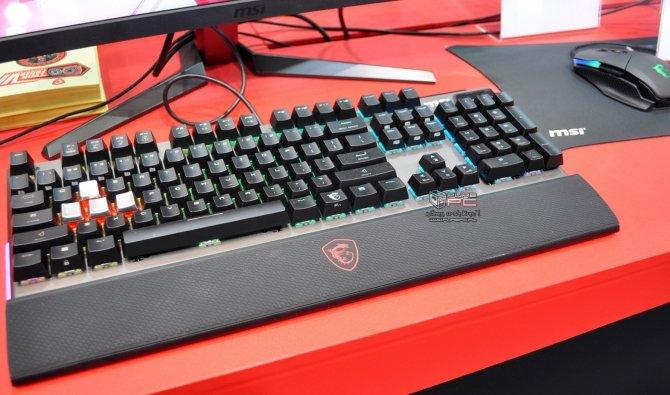 MSI Clutch GM70 i Vigor GK80 - nowa mysz i klawiatura [8]