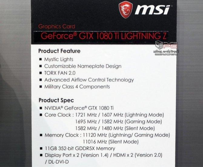 MSI GeForce GTX 1080 Ti Lightning Z widzieliśmy, dotykaliśmy [4]