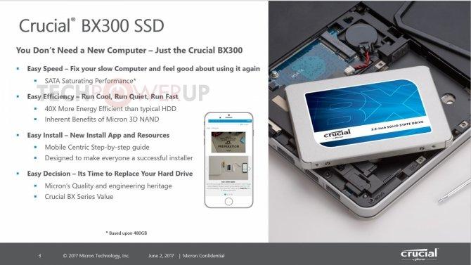 Crucial BX300 - nowa generacja niedrogich dysków SSD [1]