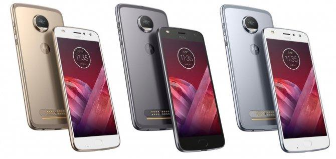 Motorola Moto Z2 Play - smartfon oficjalnie zaprezentowany [2]