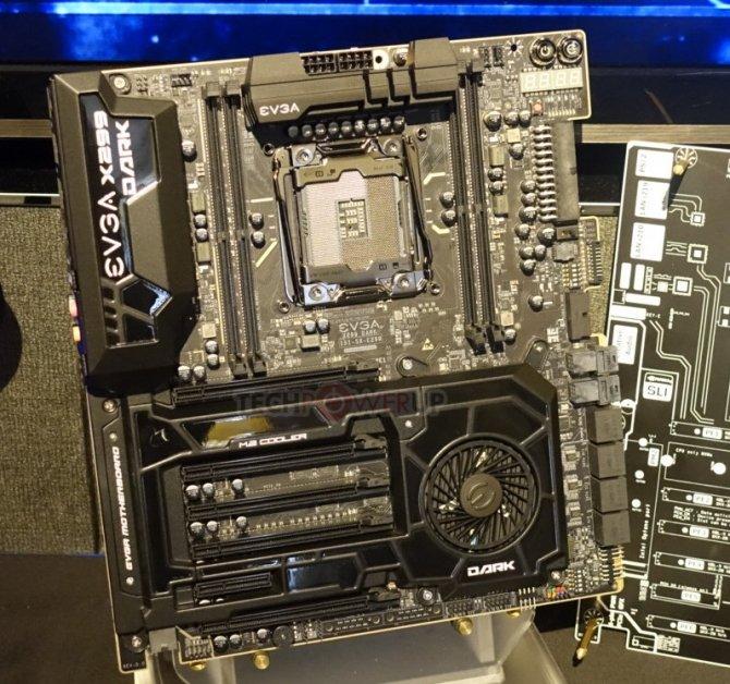 EVGA X299 DARK, FTW i Micro - nowe płyty główne dla Core X [1]