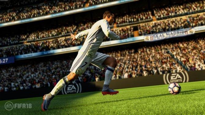 FIFA 18 oficjalnie zapowiedziana z twarzą Ronaldo na okładce [1]
