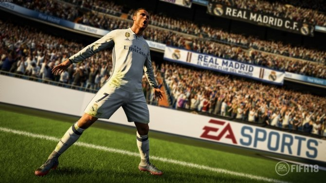 FIFA 18 oficjalnie zapowiedziana z twarzą Ronaldo na okładce [2]