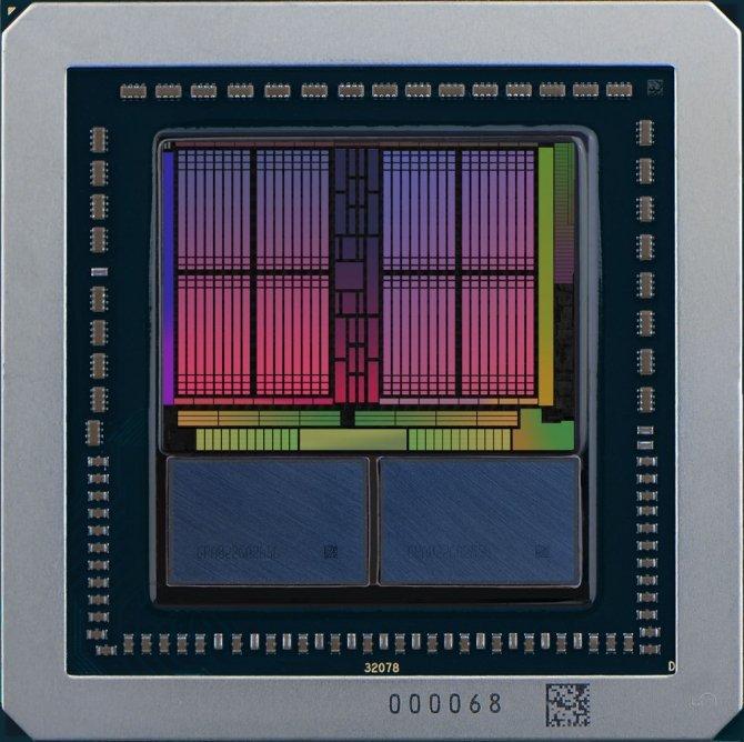 Zdjęcie rdzenia AMD Vega 10 - będzie wersja XT i wersja Pro [1]