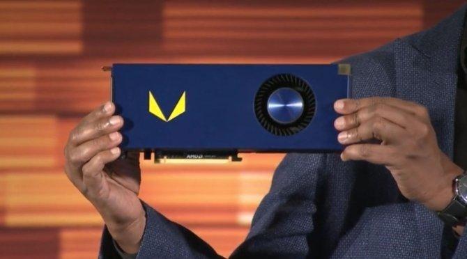 Zdjęcie rdzenia AMD Vega 10 - będzie wersja XT i wersja Pro [3]