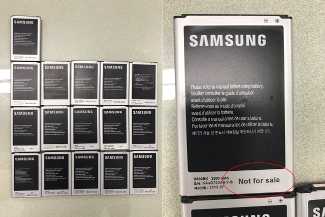 Pracownik Samsunga wyniósł i sprzedał prawie 8500 telefonów [1]