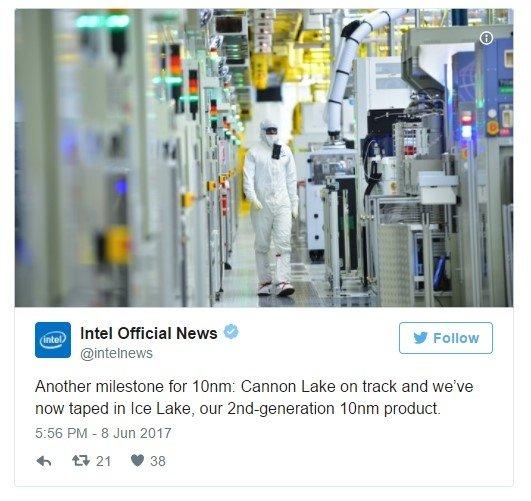 Intel Cannonlake i Ice Lake - nowe informacje o procesorach [1]