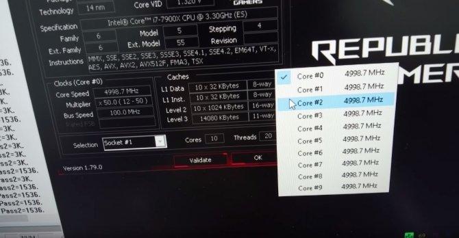 Intel Core i9-7900X podkręcony do 5,0 GHz na chłodzeniu AIO [2]