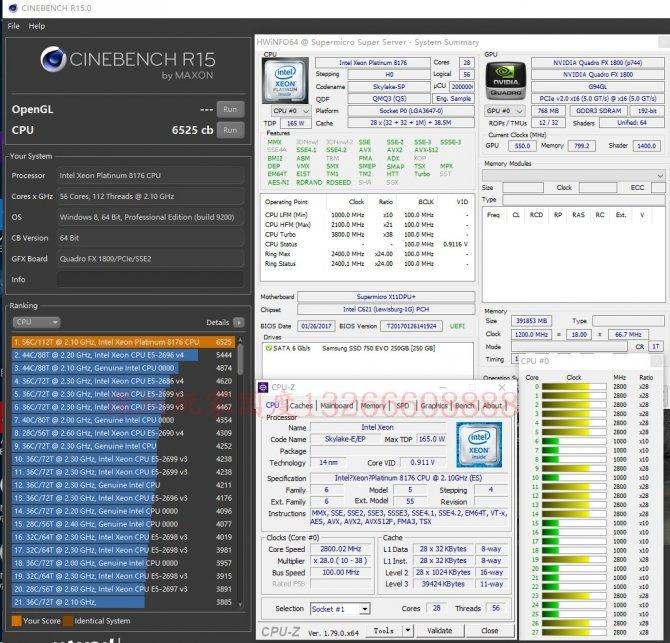 Wyciekły benchmarki procesorów Intel Xeon Platinum i Gold [5]