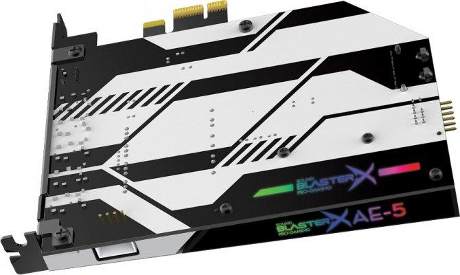 Creative Sound BlasterX AE-5 - karta dźwiękowa dla graczy [1]