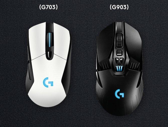 Logitech G903, G703 i Powerplay - bezprzewodowy zawrót głowy [1]