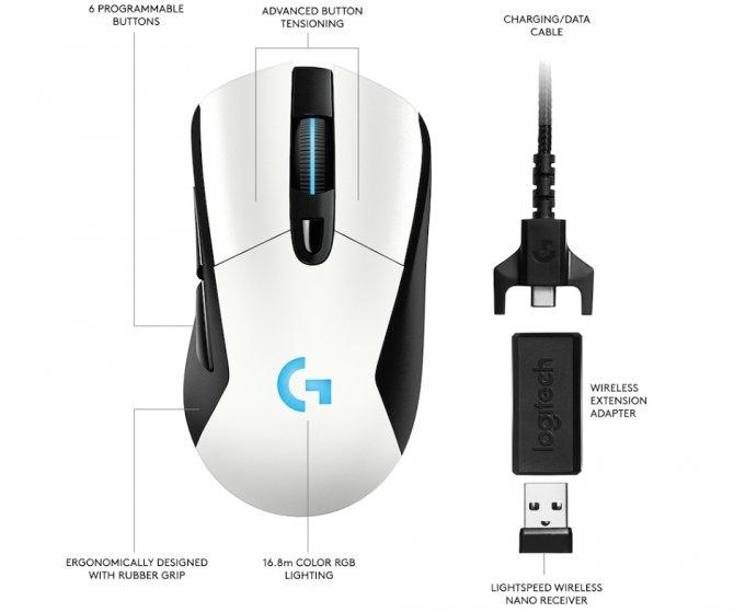 Logitech G903, G703 i Powerplay - bezprzewodowy zawrót głowy [4]