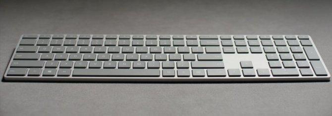 Microsoft wypuszcza klawiaturę z czytnikiem linii papilarnyc [1]