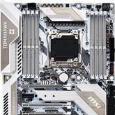 MSI X299 Tomahawk Arctic - biała piękność dla Intel Core X