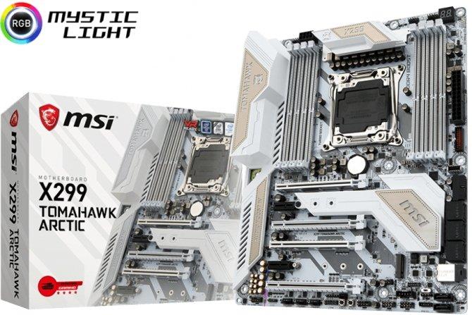 MSI X299 Tomahawk Arctic - biała piękność dla Intel Core X [1]