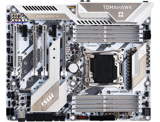 MSI X299 Tomahawk Arctic - biała piękność dla Intel Core X [2]
