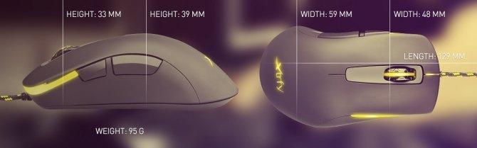 Xtrfy M1 Optical - nowa przewodowa mysz dla graczy [1]