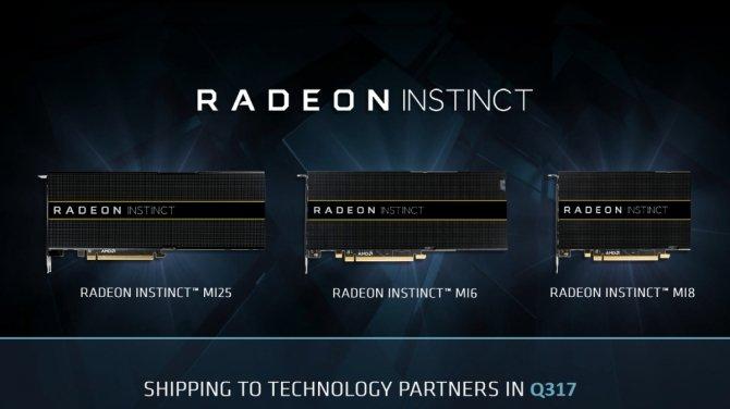 Premiera akceleratorów AMD Radeon Instinct MI25, MI8 i MI6 [1]