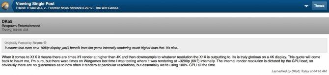 Titanfall 2 na Xbox One X nawet w rozdzielczości 6K? [2]