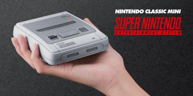 Nintendo kontratakuje: zapowiedziano SNES Classic Mini [1]