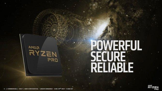 AMD Ryzen PRO - oficjalna zapowiedź procesorów dla firm [1]