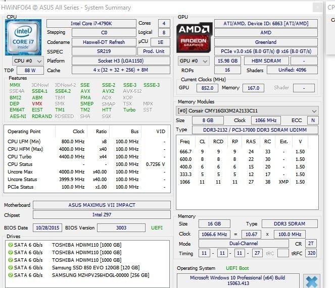 Radeon Vega Frontier Edition - wyniki w 3DMark Fire Strike [3]