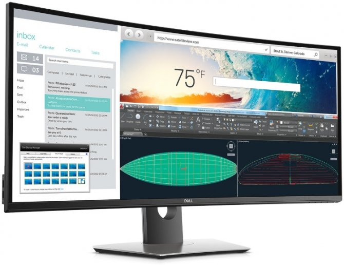Dell U3818DW - nowy monitor ultrapanoramiczny  [2]