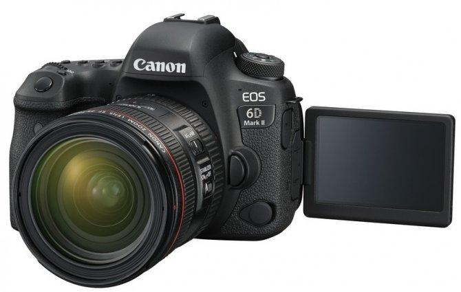 Canon prezentuje nowe lustrzanki - EOS 6D Mark II i EOS 200D [3]