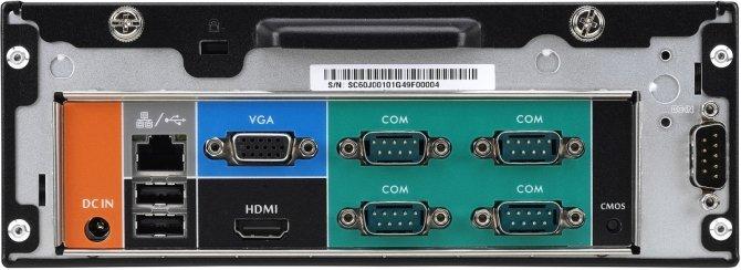Shuttle XC60J - komputer barebone pozbawiony wentylatorów [3]