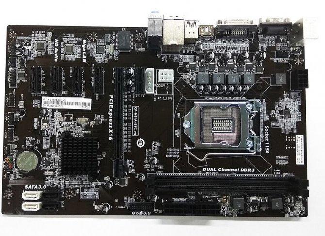 Colorful H81A-BTC V20 - płyta dla górników ze starszymi CPU [2]
