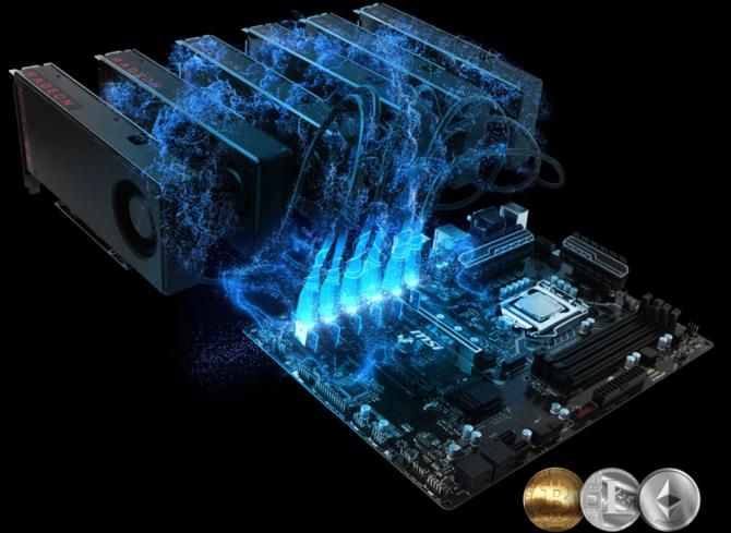 MSI wydało specjalny BIOS do płyt głównych dla górników [1]