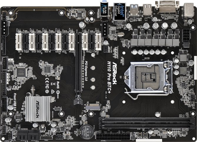 ASRock H110 Pro BTC+ - płyta z 13 złączami PCI Express [2]