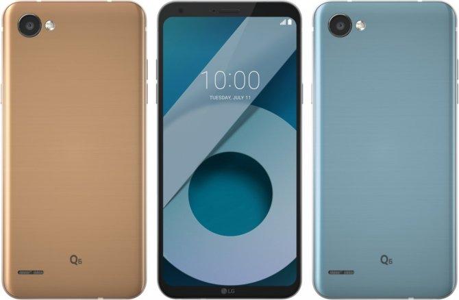LG Q6 - nowa rodzina smartfonów od LG z szerokimi ekranami [1]