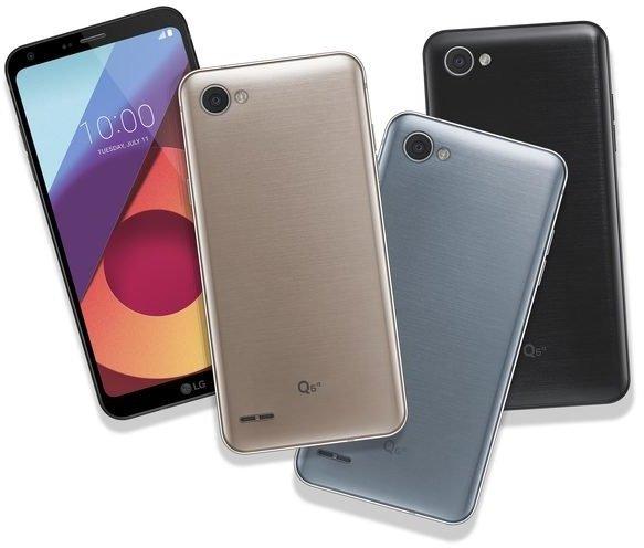LG Q6 - nowa rodzina smartfonów od LG z szerokimi ekranami [2]