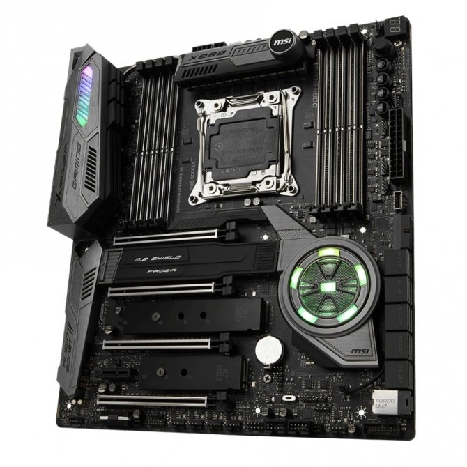 MSI X299 XPower Gaming AC - specyfikacja nowej płyty głównej [1]