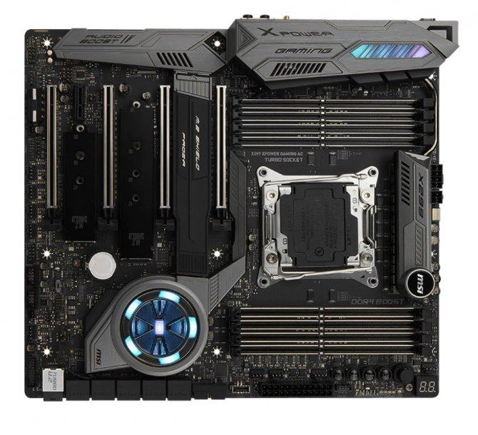 MSI X299 XPower Gaming AC - specyfikacja nowej płyty głównej [2]