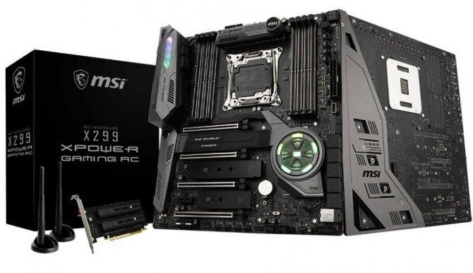MSI X299 XPower Gaming AC - specyfikacja nowej płyty głównej [3]