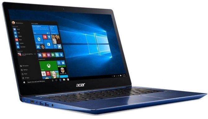 Acer Swift 3 SF314 z procesorem Intel Core i5-8250U [1]