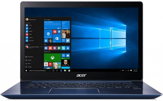 Acer Swift 3 SF314 z procesorem Intel Core i5-8250U [4]