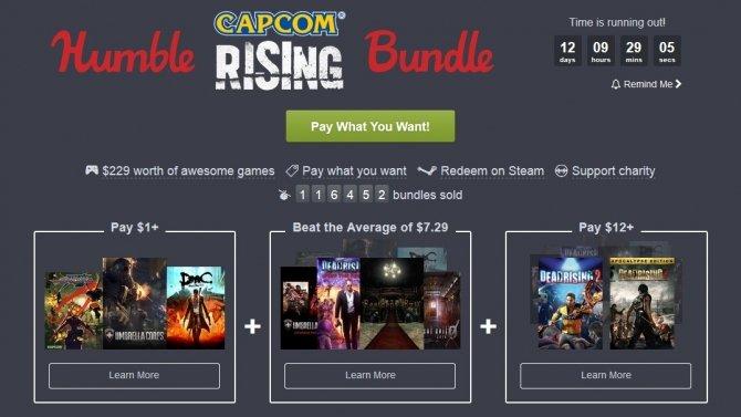 Nowa paczka gier AAA od Capcom na Humble Bundle [1]