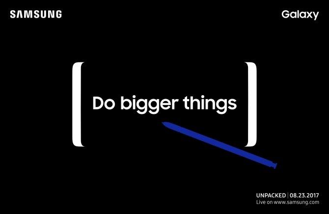 Samsung oficjalnie potwierdza datę premiery Galaxy Note8 [1]