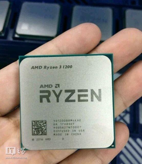 AMD Ryzen 3 1200 w Cinebench R15 na poziomie Core i5-4460 [1]