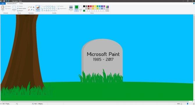 Koniec pewnej epoki - Microsoft wymieni Paint na Paint 3D [1]