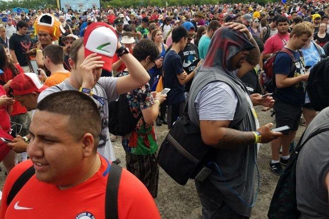 Oficjalna impreza dla fanów Pokémon Go okazała się porażką [1]