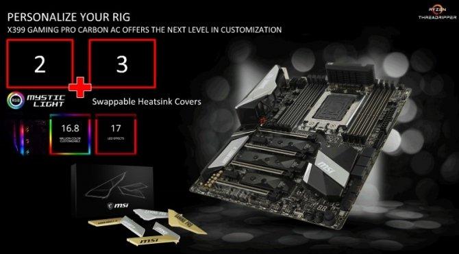 Specyfikacja płyty głównej MSI X399 Gaming Pro Carbon AC [2]