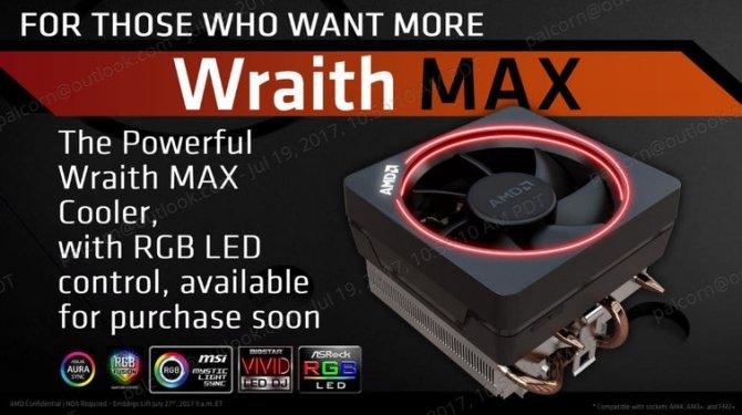 AMD rozpoczyna sprzedaż chłodzenia Wraith Max [2]